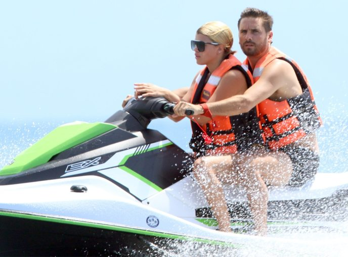 Sofia Richie, Scott Disick, Mexico