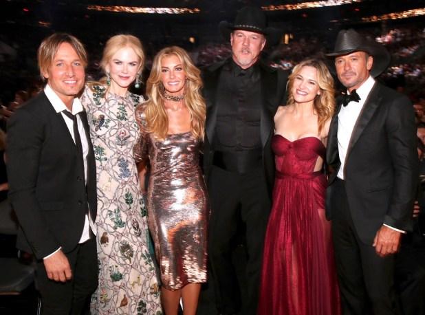 Keith Urban, Nicole Kidman, Faith Hill, Trace Adkins, Victoria Pratt, Tim McGraw, Keith Urban's Famous Friends