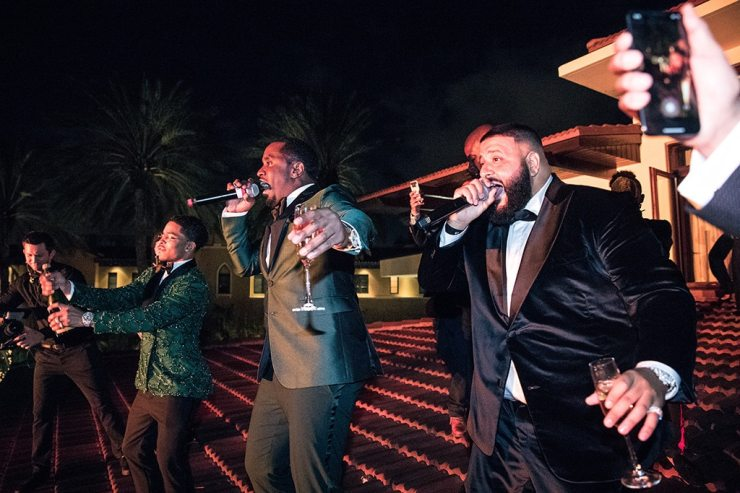 "Sean ""Diddy"" Combs, DJ Khaled, Halsey"
