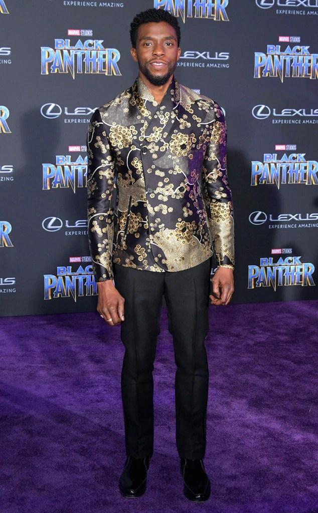 Chadwick Boseman, Black Panther premiere