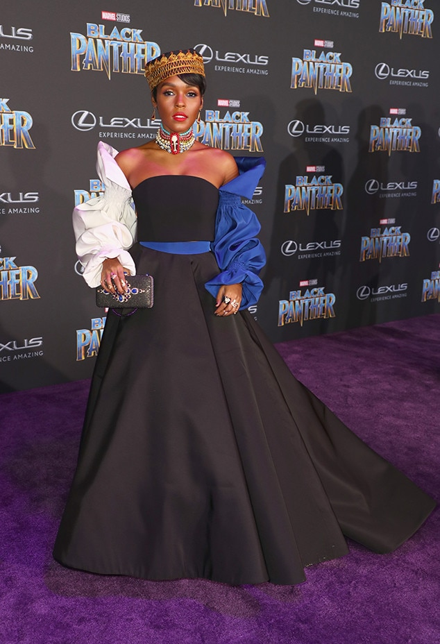 Janelle Monae, Black Panther Premiere