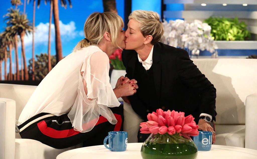 Portia de Rossi, Ellen DeGeneres, The Ellen prove