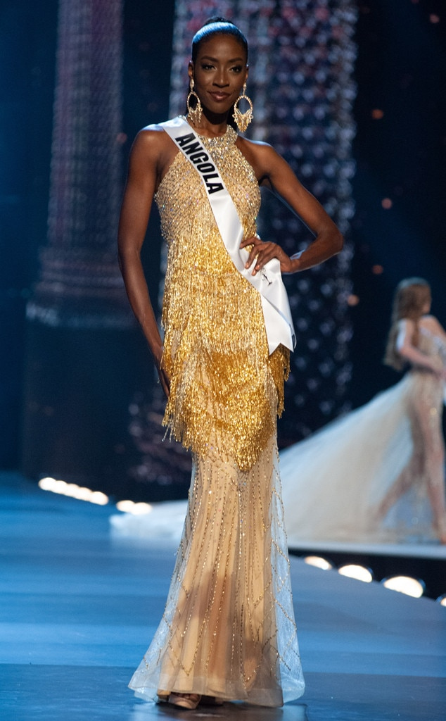 Miss Angola From Miss Universe 2018 Evening Gown