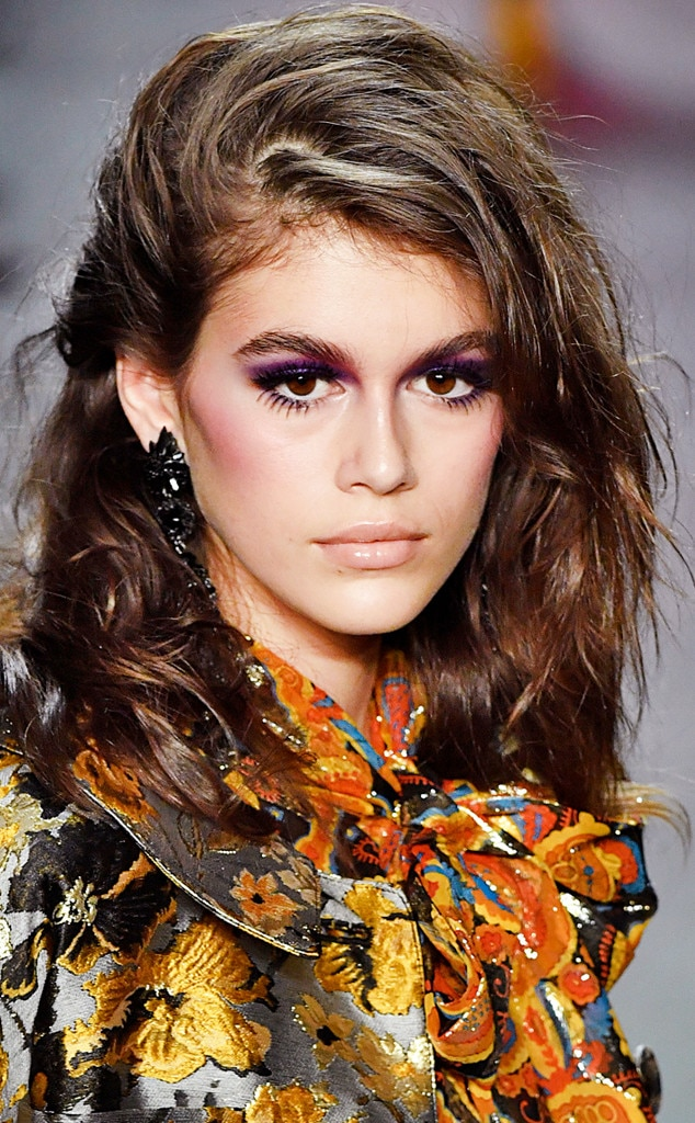 How To Create Kaia Gerbers Festival Ready Makeup In 5