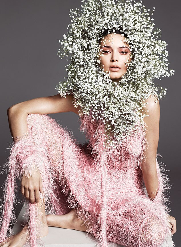 Kendall Jenner, Vogue April 2018
