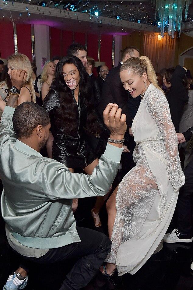 Usher, Rita Ora, Winnie Harlow Lorraine Schwartz Party