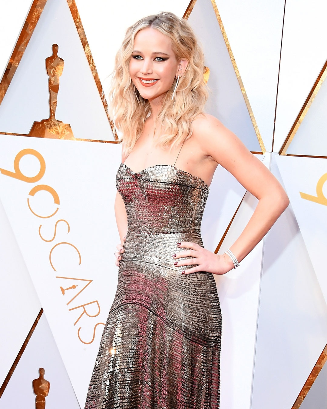 Jennifer Lawrence at Oscar 2018