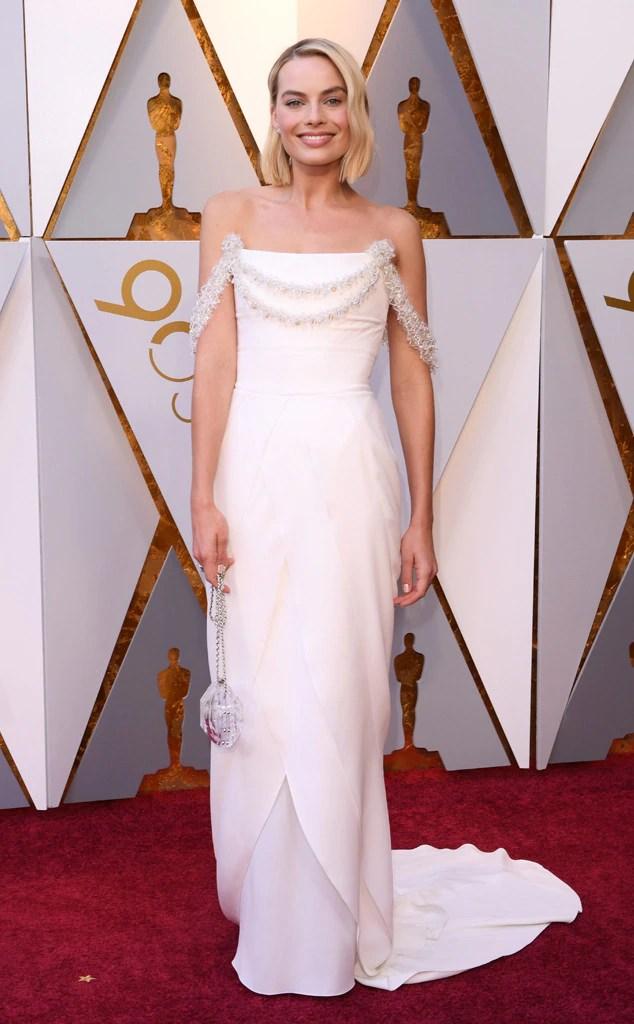 2018 Oscars Red Carpet Fashion Margot Robbie, 2018 Oscars, Red Carpet Fashions