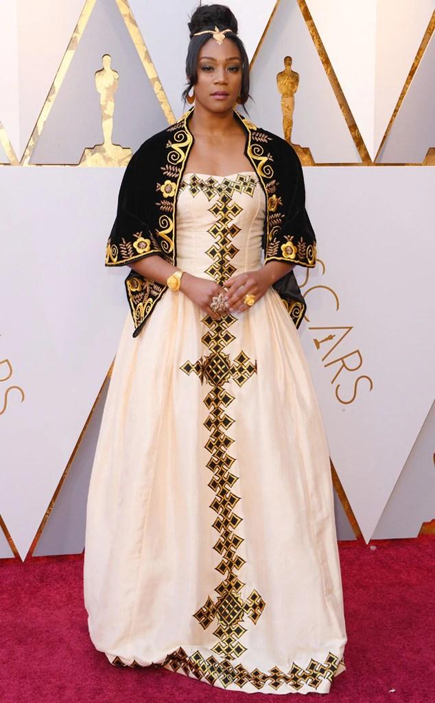 Tiffany Haddish, 2018 Oscars, Red Carpet Fashions
