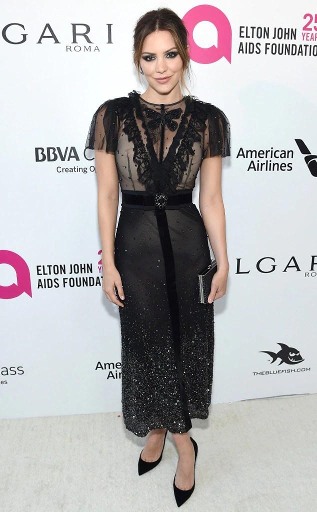 Katharine McPhee, 2018 Elton John Oscar Party
