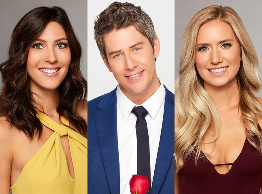 Becca, Lauren B., Arie, The Bachelor