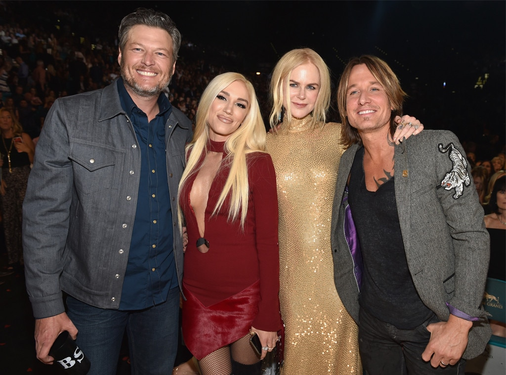 Blake Shelton, Gwen Stefani, Nicole Kidman, Keith Urban, Academy of Country Music Awards 2018, Show