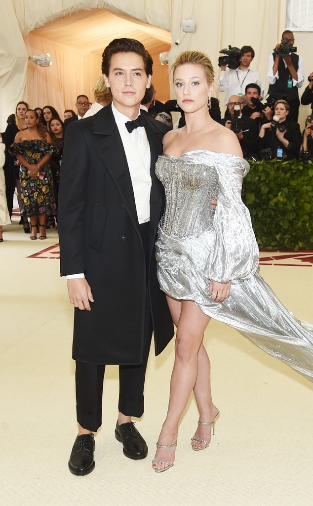 COLE SPROUSE & LILI REINHART-Couples at the 2018 met gala awards