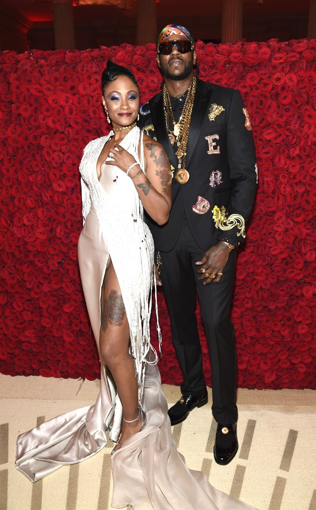 2 CHAINZ & KESHA WORD-Couples at the 2018 met gala awards