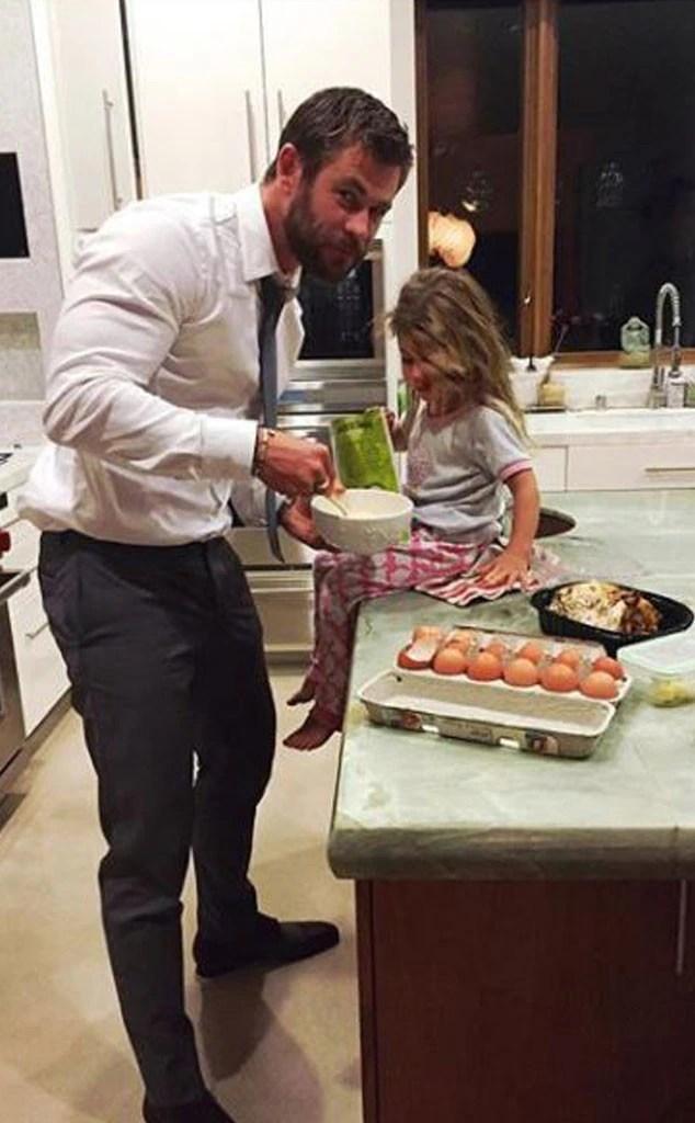 Chris Hemsworth, India Rose, Father, Daughter