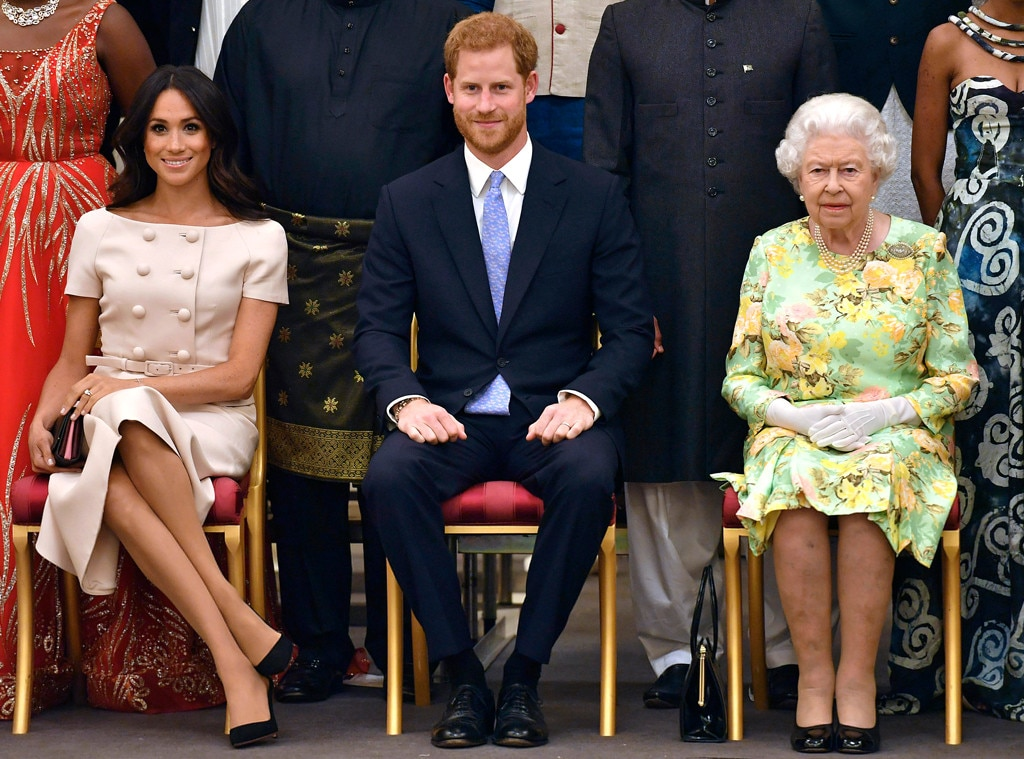 Meghan Markle, Duchess of Sussex, Prince Harry, Queen Elizabeth II