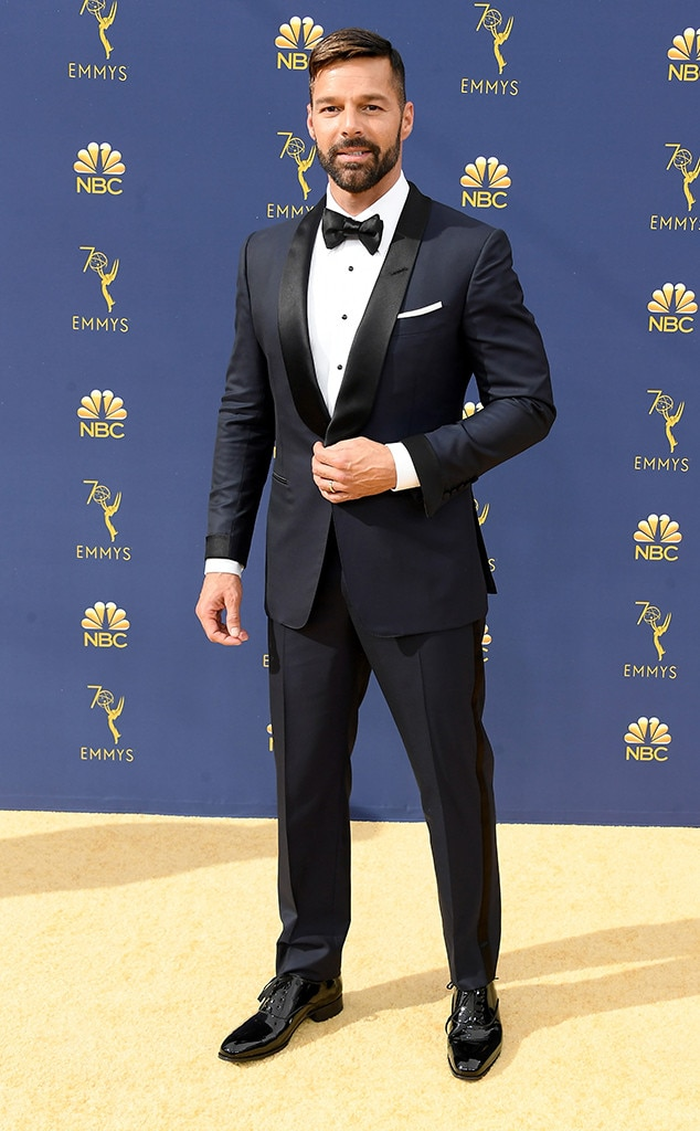 Ricky Martin, Emmy Awards 2018, Emmy Awards 2018, Red Carpet Fashions