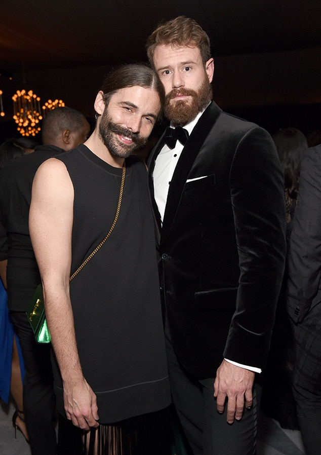 Jonathan Van Ness, Wilco Froneman, 2018 Emmy After Party Pics