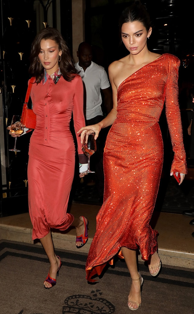 Bella Hadid, Kendall Jenner