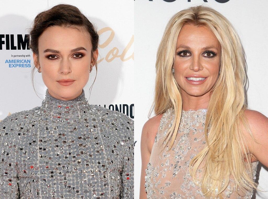 Keira Knightley, Britney Spears