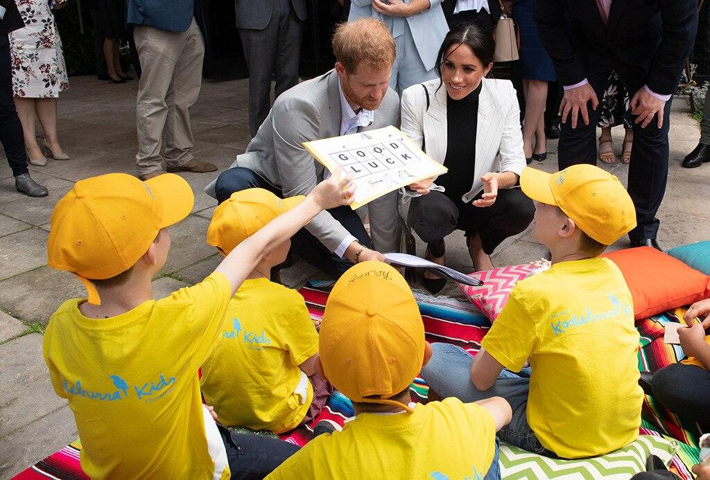 Meghan Markle, Pregnant, Prince Harry, Royal Tour, Australia, Kookaburra Kids
