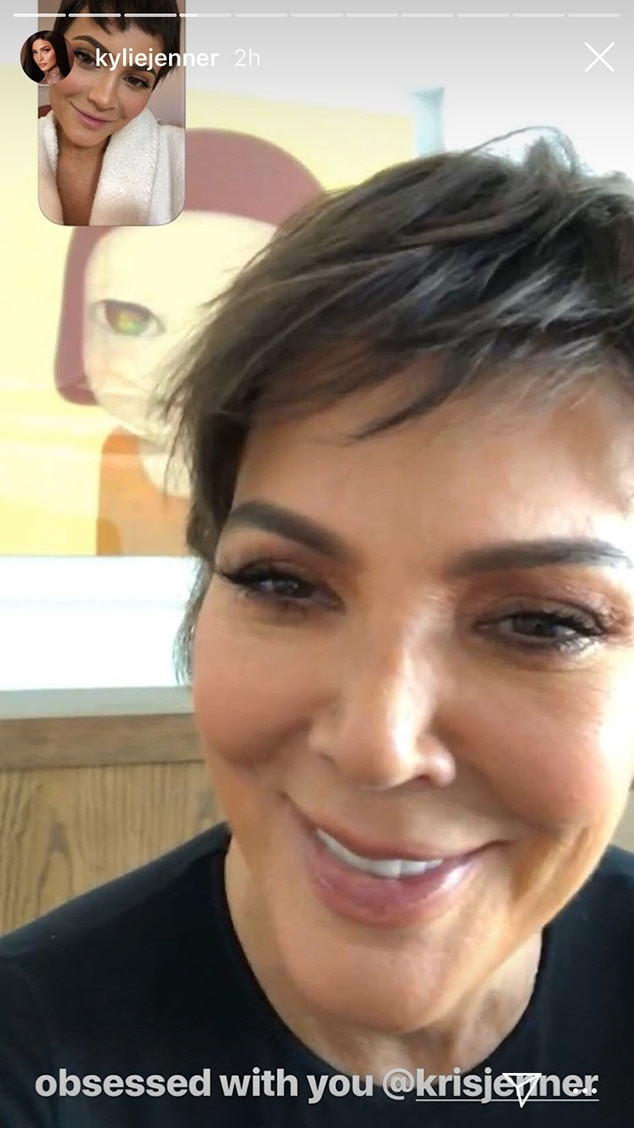 Kylie Jenners New Hairstyle Is The Ultimate Tribute To Kris Jenner