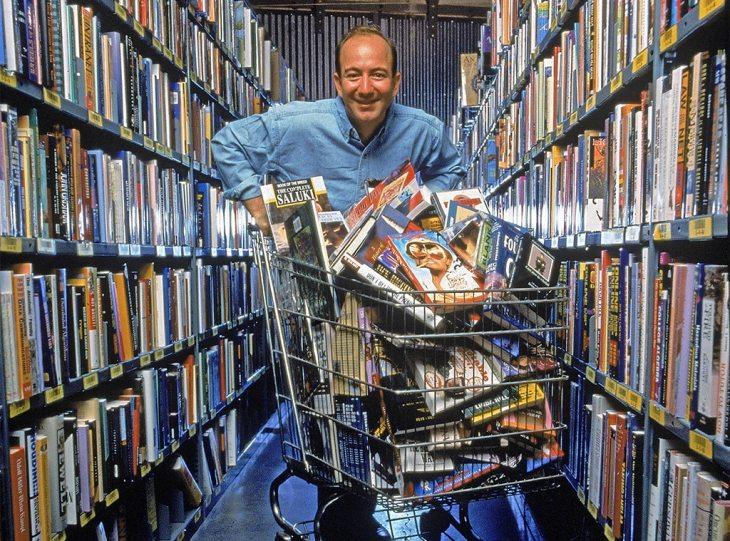 Jeff Bezos, Amazon Portrait, 1998