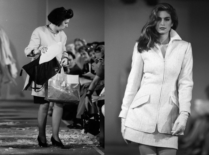 Cindy Crawford, Michael Kors Fashion Show, Fall 1991