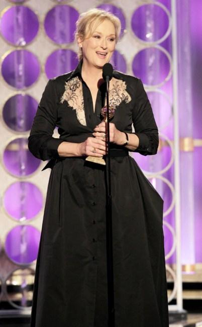 Meryl Streep, 69th Annual Golden Globe Awards