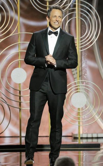 Seth Meyers, 75th Annual Golden Globe Awards - Show
