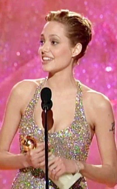 Angelina Jolie, Golden Globes, 1999