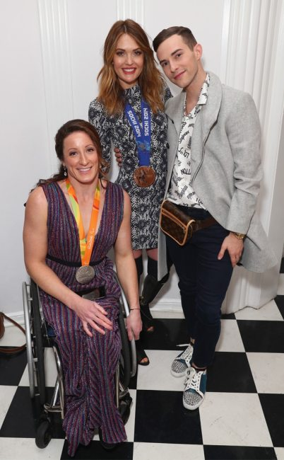 Tatyana McFadden, Amy Purdy, Adam Rippon, Gold Meets Golden 2019