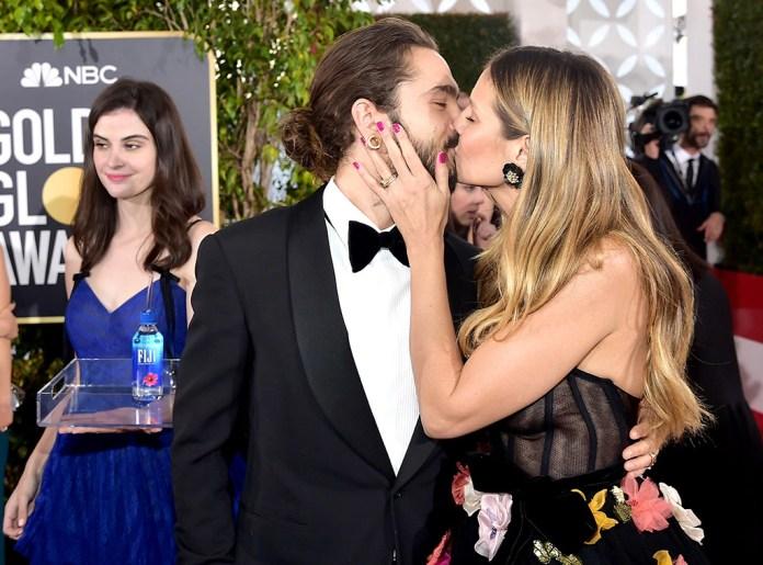 Tom Kaulitz, Heidi Klum, Fiji Water