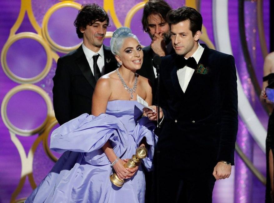 Lady Gaga, Mark Ronson, 2019 Golden Globes, Golden Globe Awards, Winners