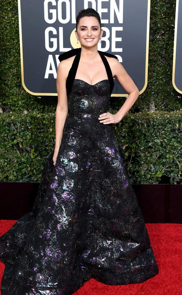 Penélope Cruz, 2019 Golden Globes, Golden Globe Awards, Red Carpet Fashions