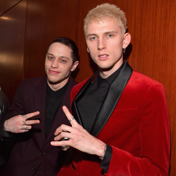 Pete Davidson, Machine Gun Kelly, 2019 Golden Globe Awards, After Party