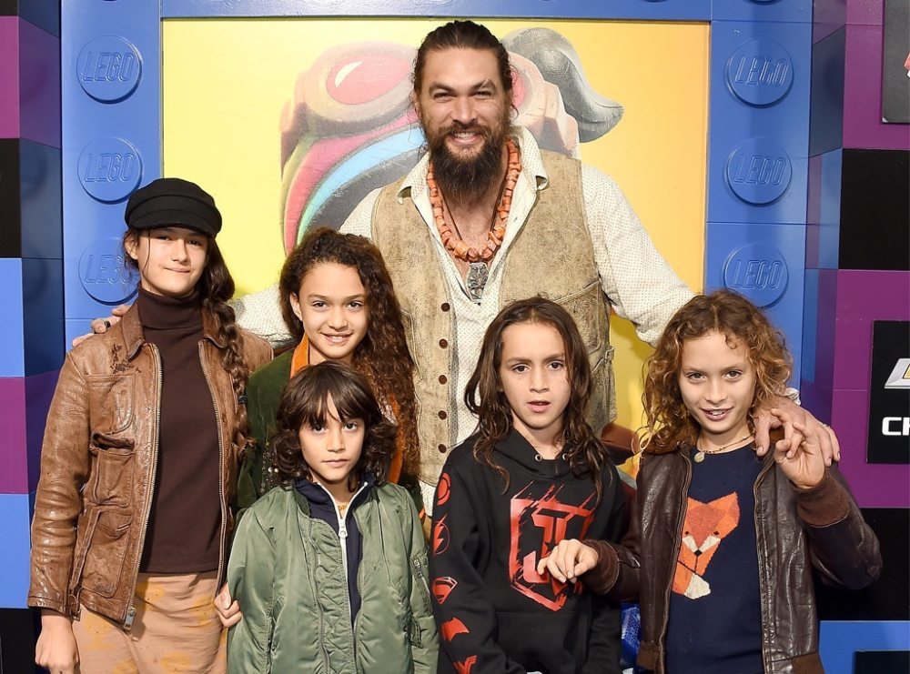 Jason Momoa, Lego Movie 2 premiere