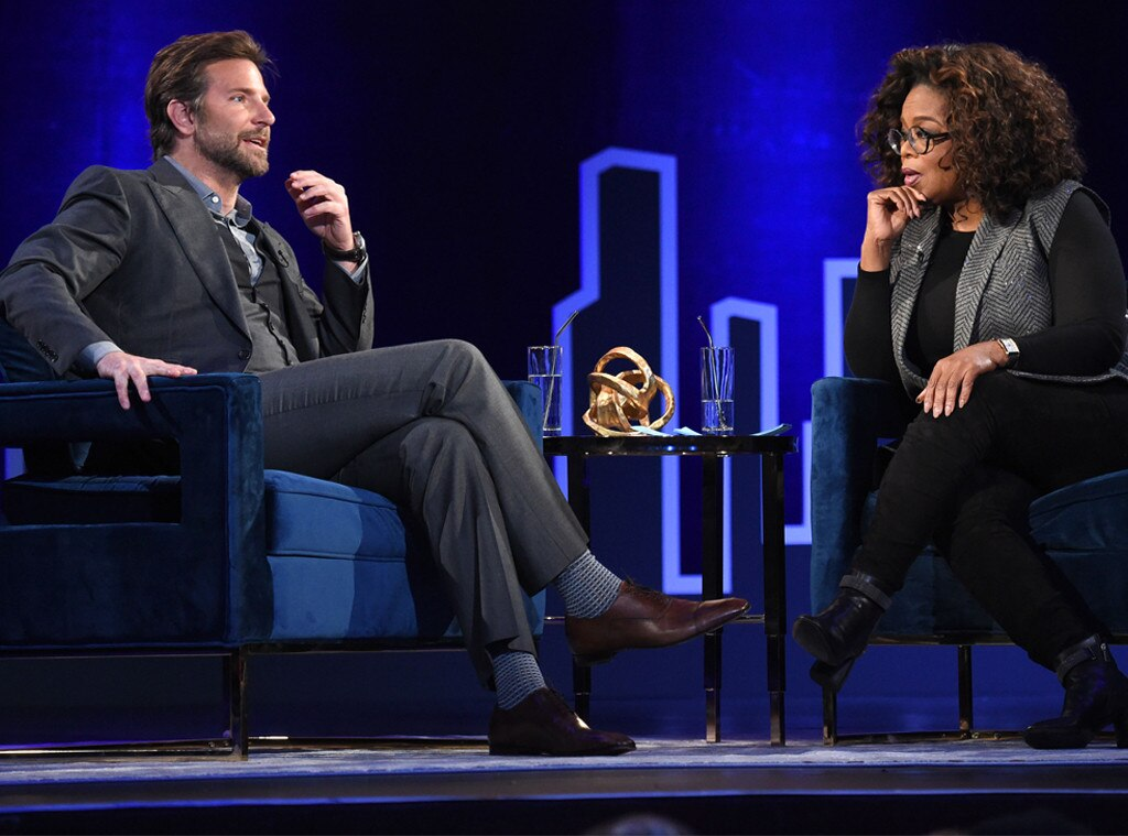 Bradley Cooper Tells Oprah Winfrey He Was Embarrassed by ...