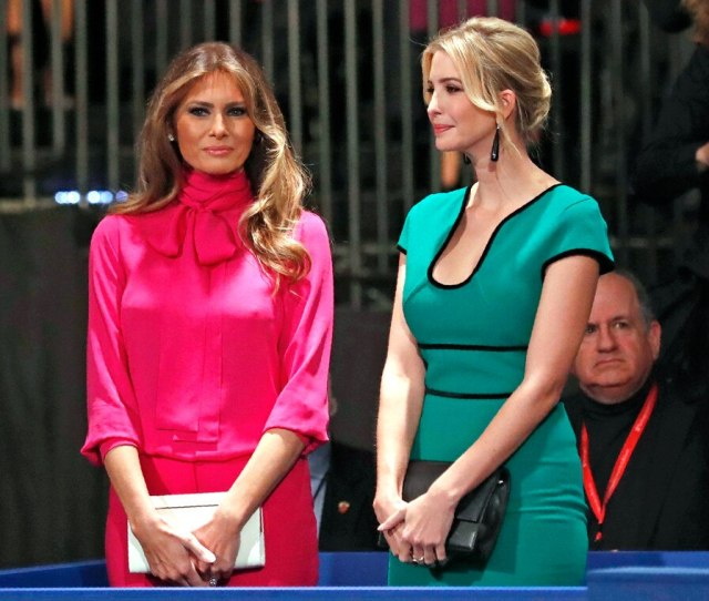Melania Trump Ivanka Trump