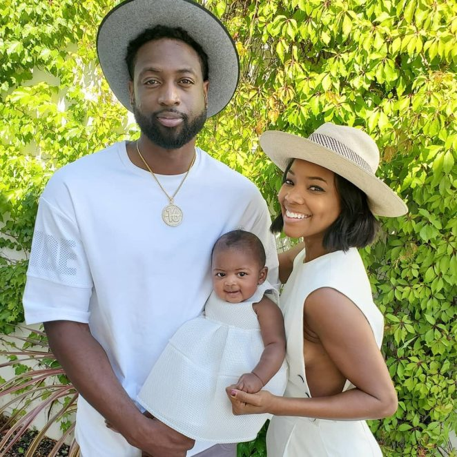 Image result for Gabrielle Union's daughter  at 8 months