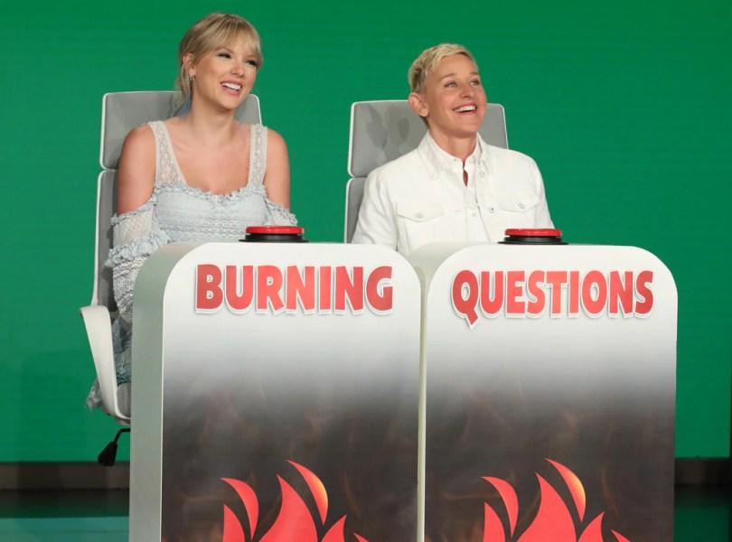 Taylor Swift, Ellen DeGeneres