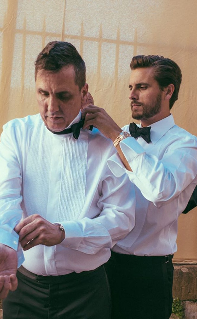 Scott Disick, Kim Kardashian, Kanye West, Wedding
