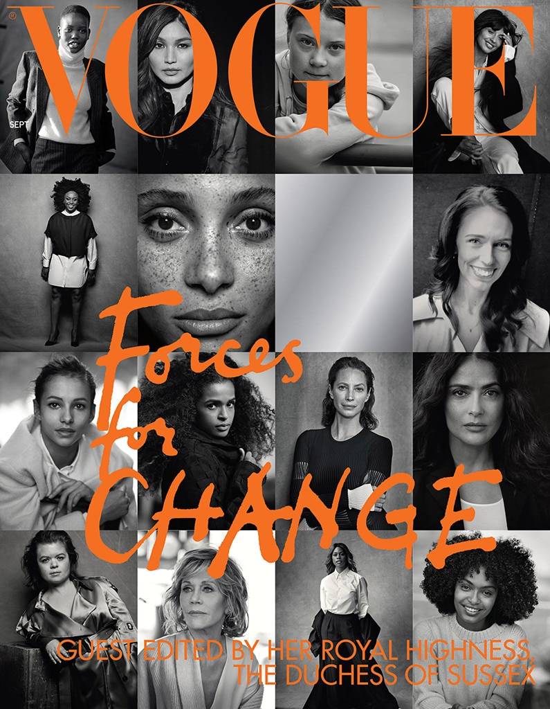 Meghan Markle, British Vogue, Not Pictured