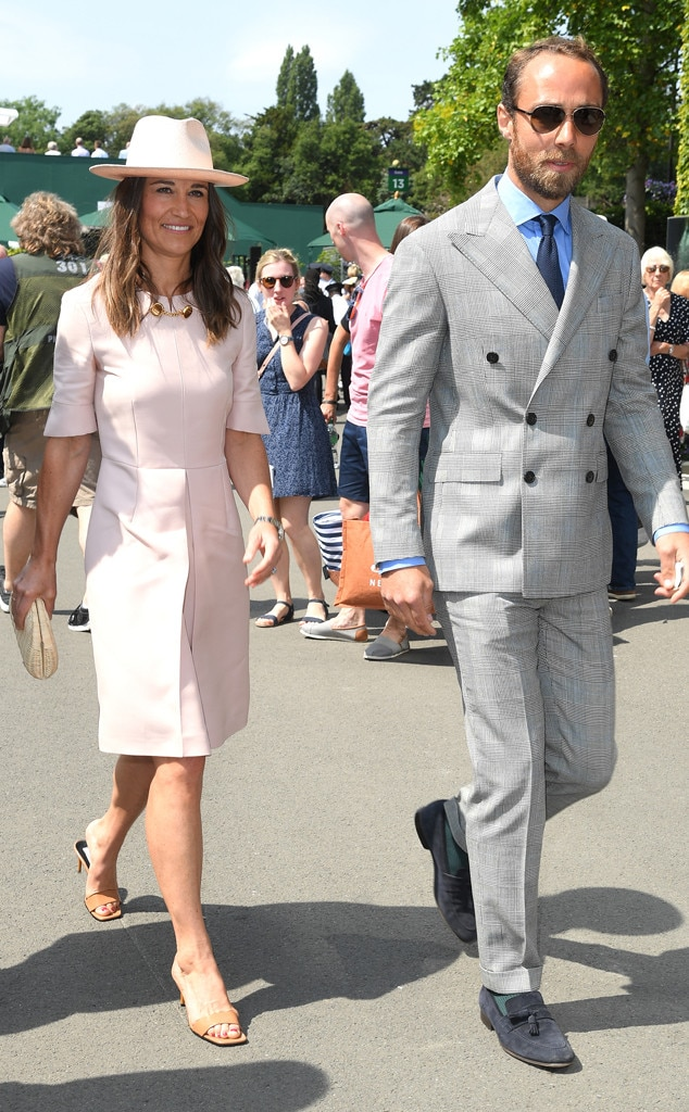 Pippa Middleton, James Middleton, Wimbledon Tennis Championships 2019