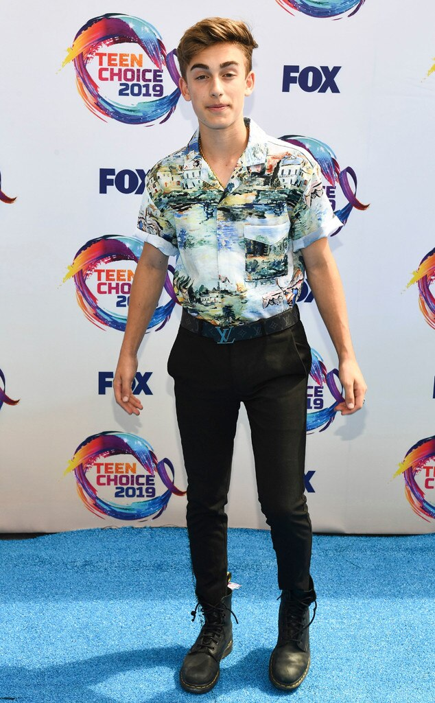 Johnny Orlando from Teen Choice Awards 2019: Red Carpet ...