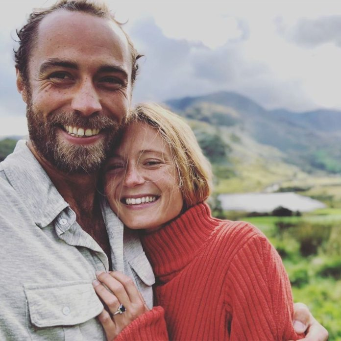 James Middleton, Alizee Thevenet, Instagram