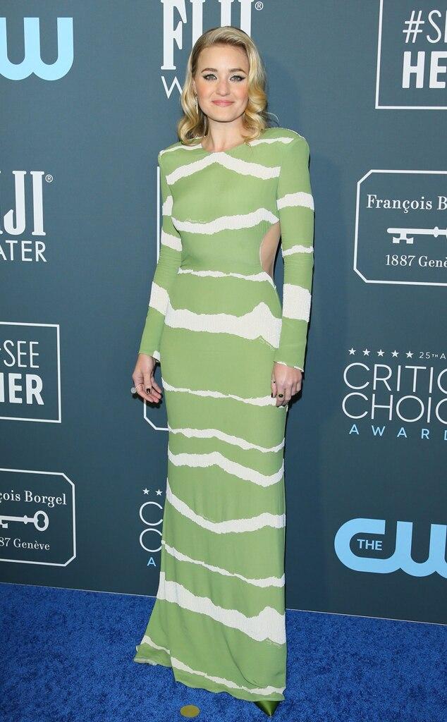 AJ Michalka, 2020 Critics Choice Awards, Red Carpet Fashion