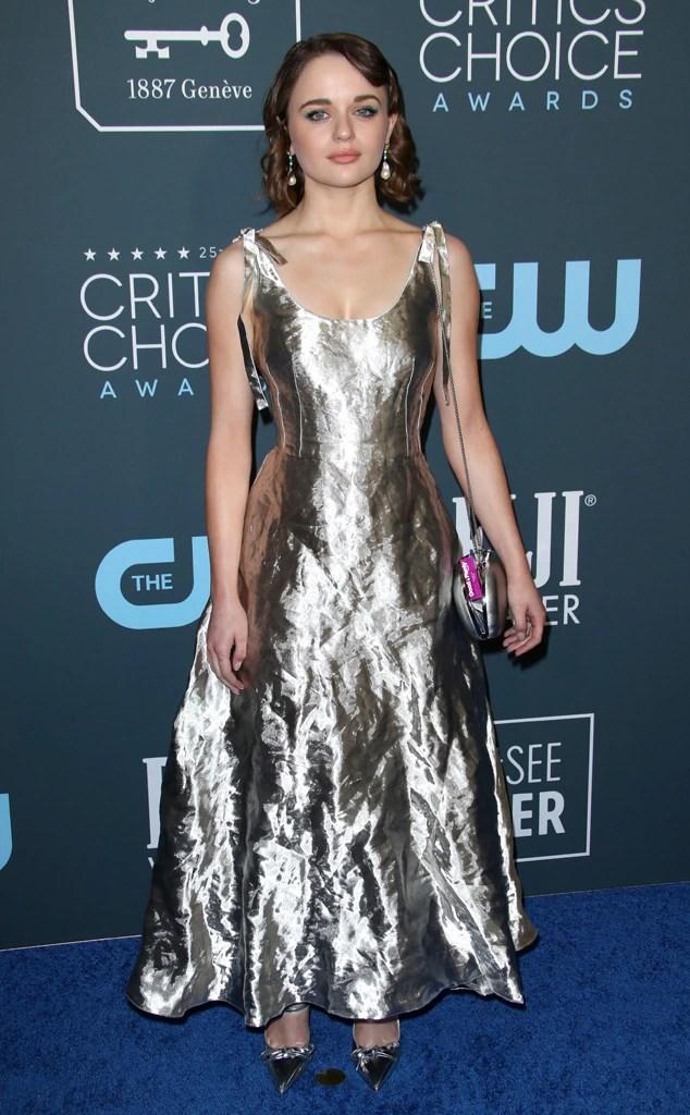 Joey King, 2020 Critics Choice Awards, Red Carpet Fashion
