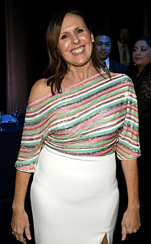 Molly Shannon, 2020 Critics Choice Awards, After Party