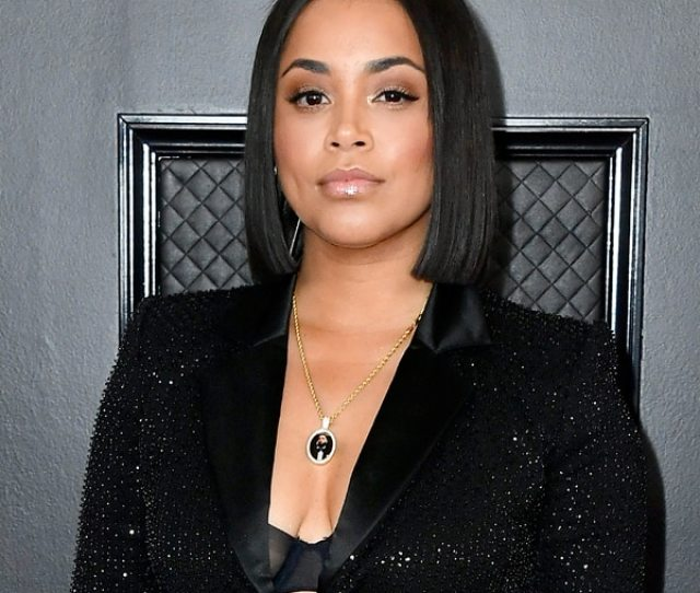 Lauren Londons Grammys Necklace Is A Sweet Tribute To Nipsey